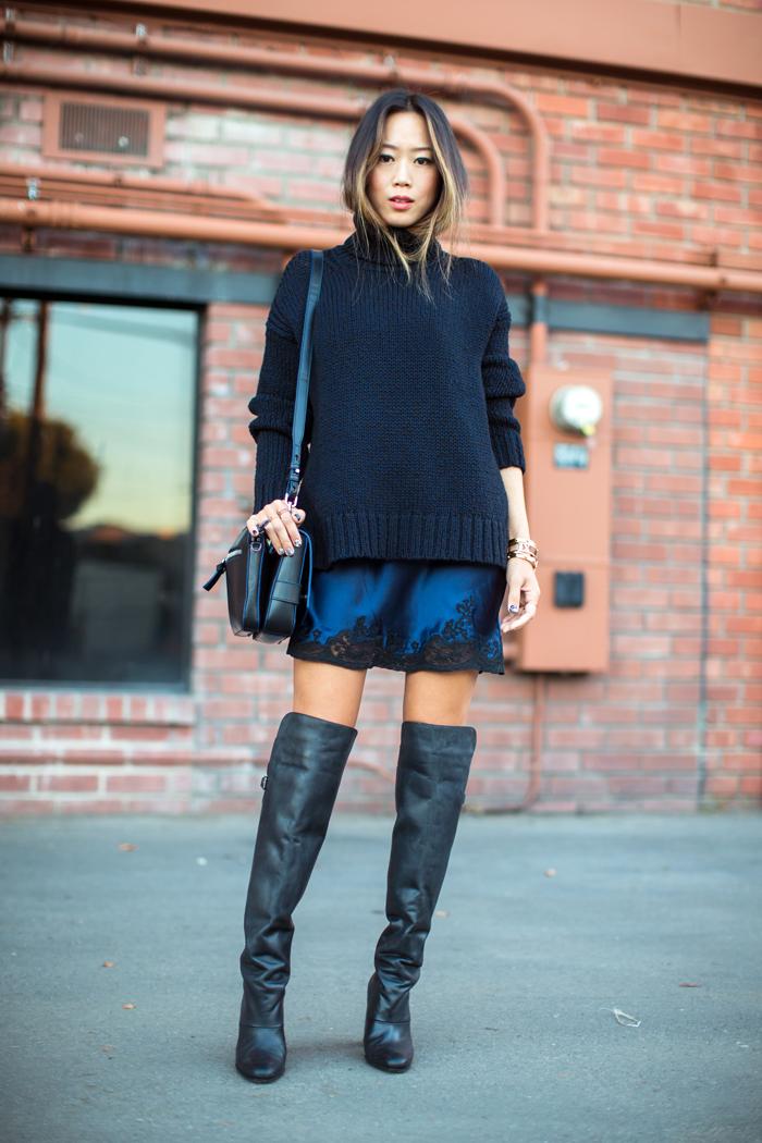 Nėriniai ir per didelis megztinis