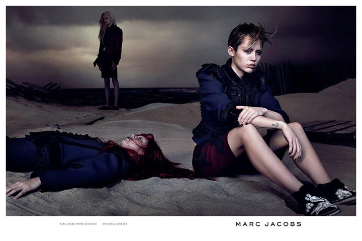 Marc Jacobs ir Miley Cyrus