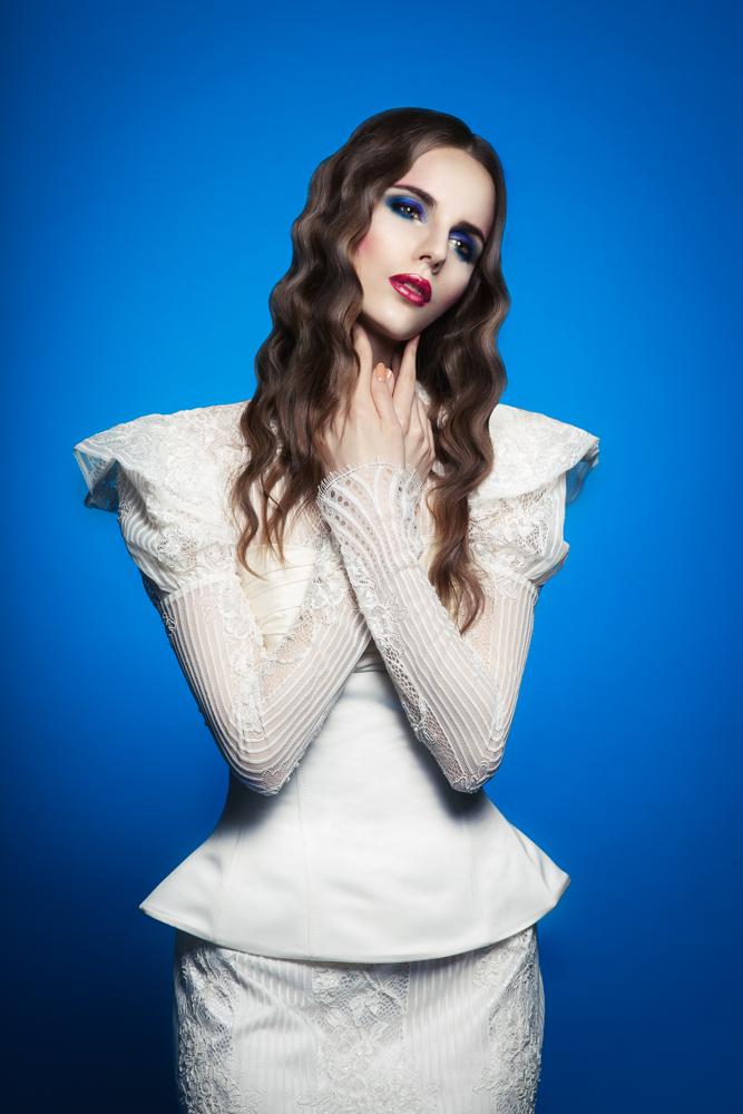 Monika Daniūtė – pavasario madona fotostudijoje