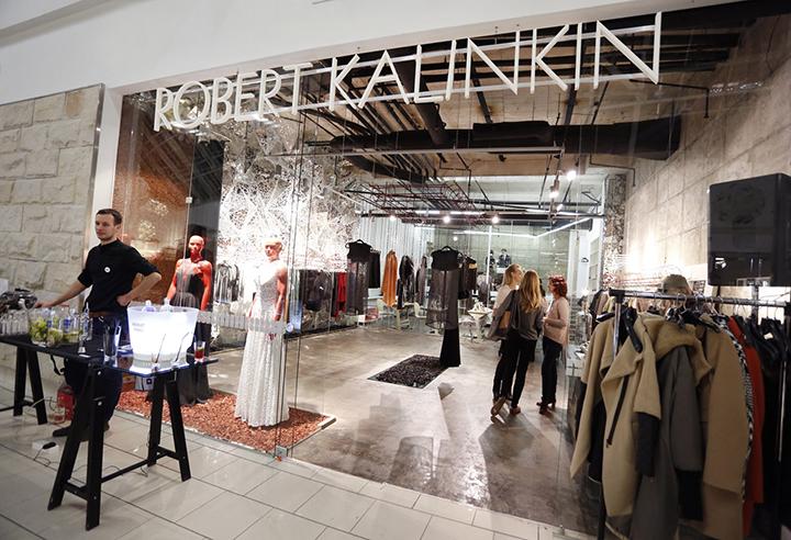 Robert Kalinkin parduotuvė, biuras ir siuvykla viename
