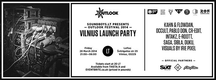 """Laimėk 2 kvietimus į """"Outlook"""" pre-party"""