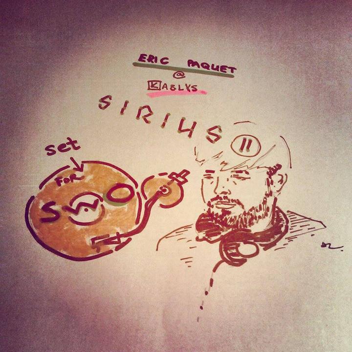 """Eric Paquet pasirodymo įrašas iš """"SIRIUS II"""""""