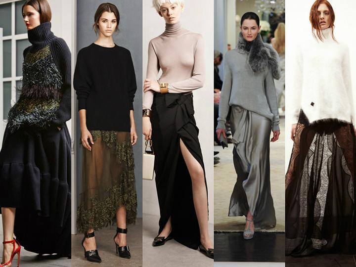 Megztinis ir sijonas