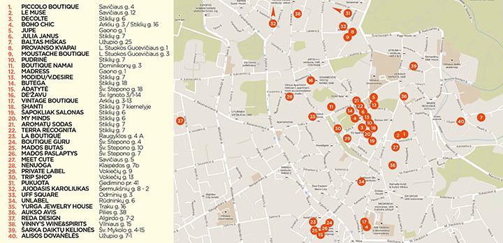 Pirkinių naktis jau čia pat: SNO programa ir žemėlapis