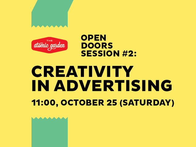 Kūrybiškumas reklamoje ir menininko vieta pasaulyje