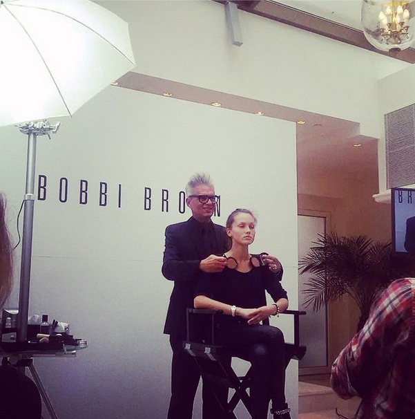 Bobbi Brown Lietuvoje -SwO live feed
