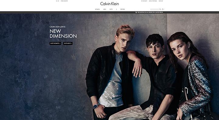 """""""Calvin Klein"""" steigia e-parduotuves dvidešimtyje šalių"""
