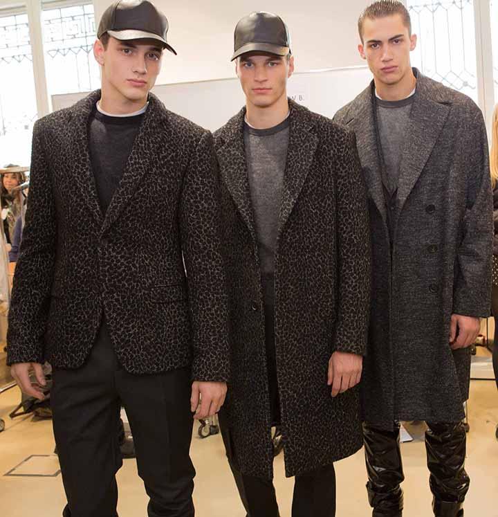"""Vyrų mados savaitė. """"Calvin Klein collection"""""""