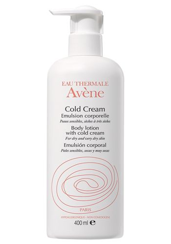 """AVENE COLD CREAM. NOURISHING BODY LOTION"""