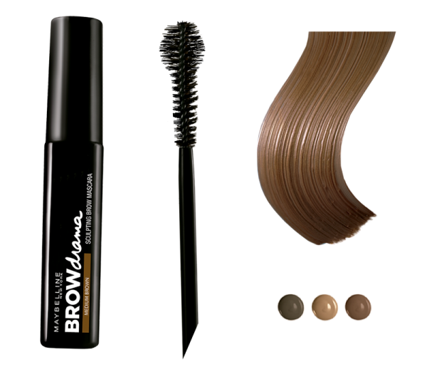 Maybelline BrowDrama sculpting brow mascara