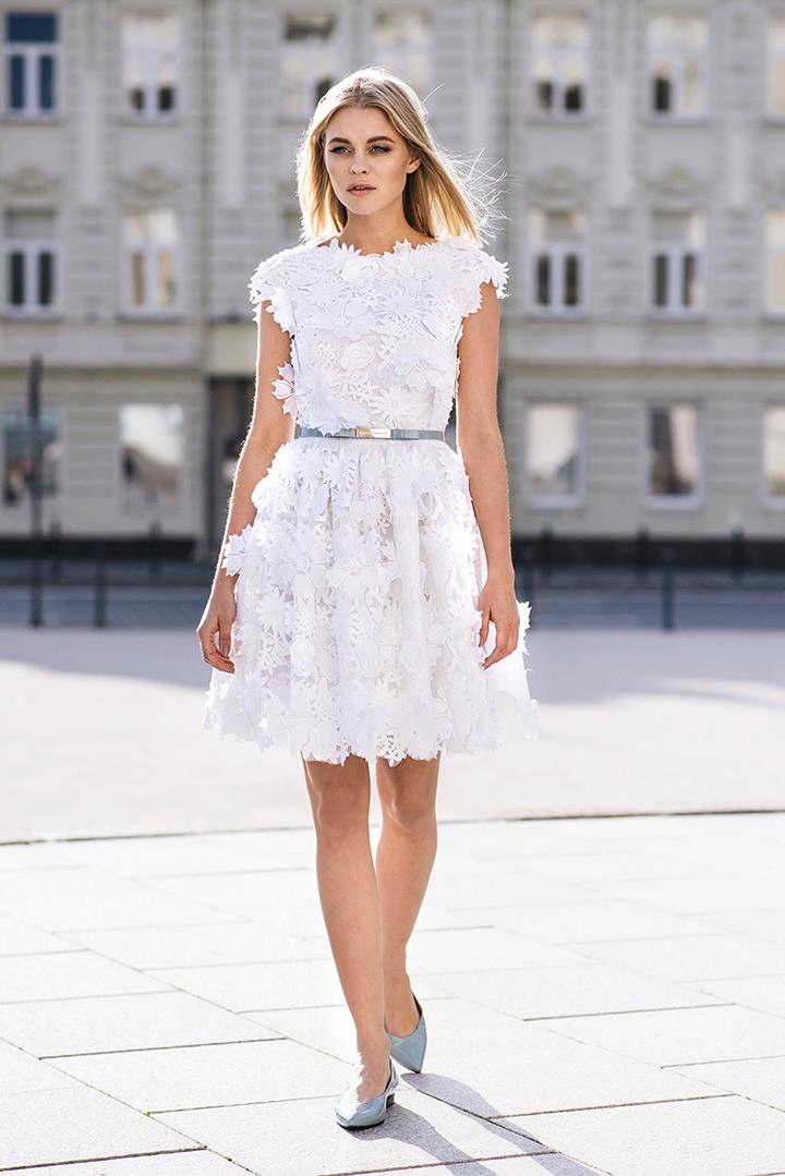 Kokteilinės suknelės vasarai: Ramunė Piekautaitė