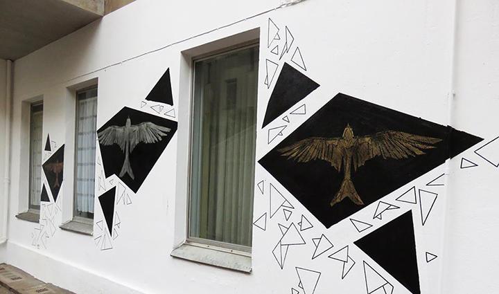 Menininko Adomo Žudžio kūrinys @ Urban Nation Berlin
