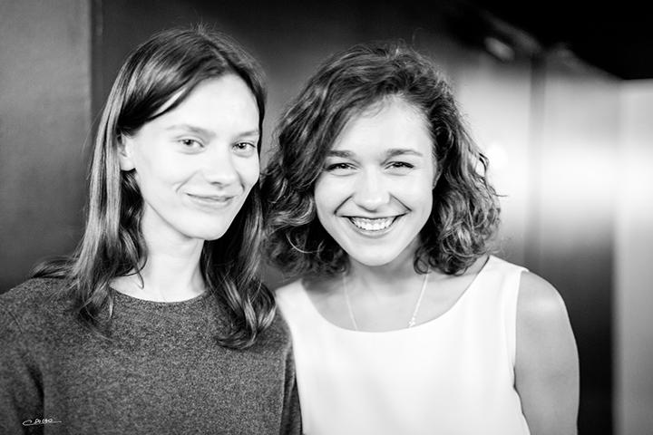 Julija Steponaitytė ir Aistė Diržiūtė