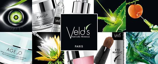 Veld's odos priežiūros produktai