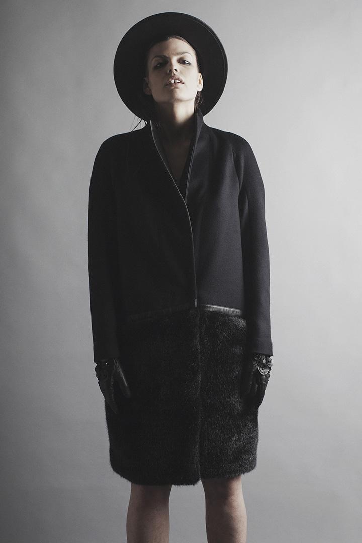 Robert Kalinkin - Half Moon Coat