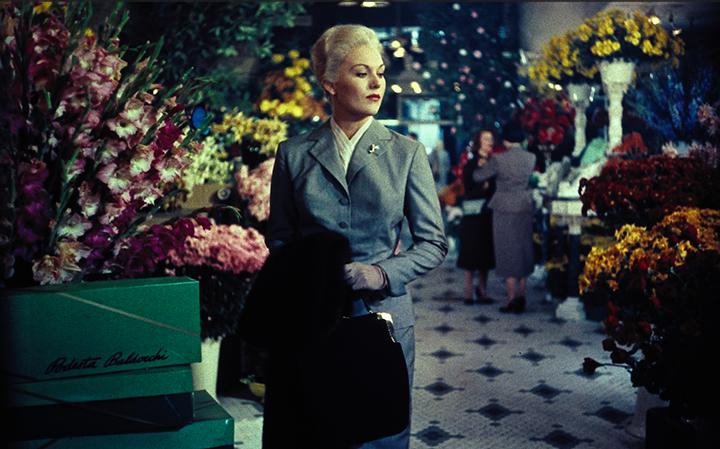 """Kadras iš Alfredo Hitchcocko juostos """"Svaigulys"""" (Vertigo, 1958)."""