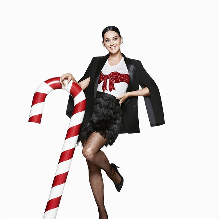 Katy Perry  – įspūdingoje H&M šventinėje kampanijoje