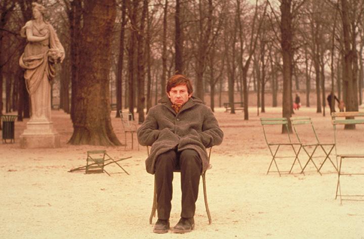 R. Polanskio filmai. Kadras iš filmo NUOMININKAS