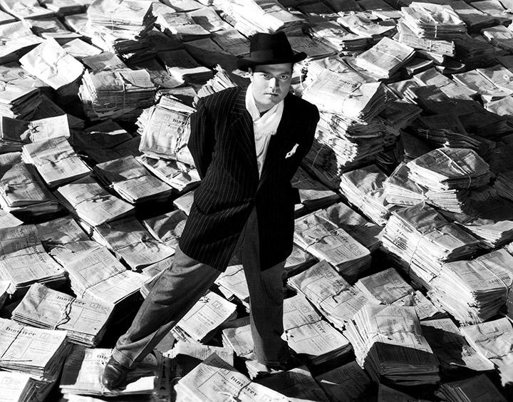 """""""Pilietis Keinas"""" (Citizen Kane), 1941 rež. Orson Wellses"""