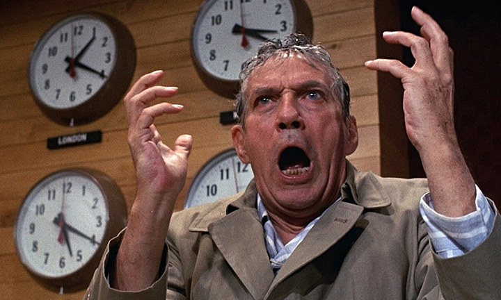 """Tinklas"" (Network), 1976 m., rež. Sidney Lumet"
