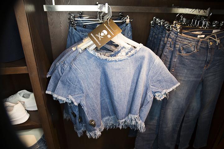 Pavasario tendencijos - džinsas