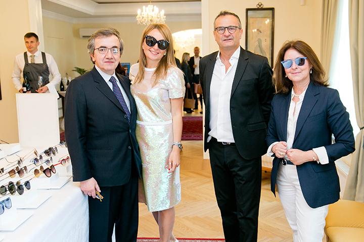 Italia Independent akinių pristatymas