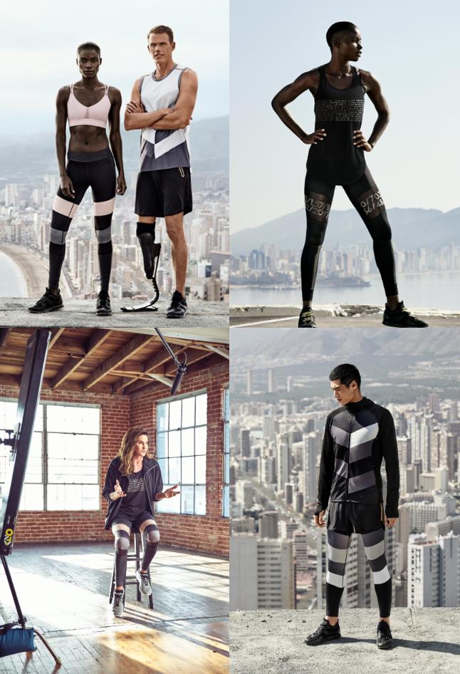 H&M sportiniai drabužiai 2016