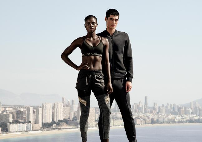 H&M sportiniai drabužiai