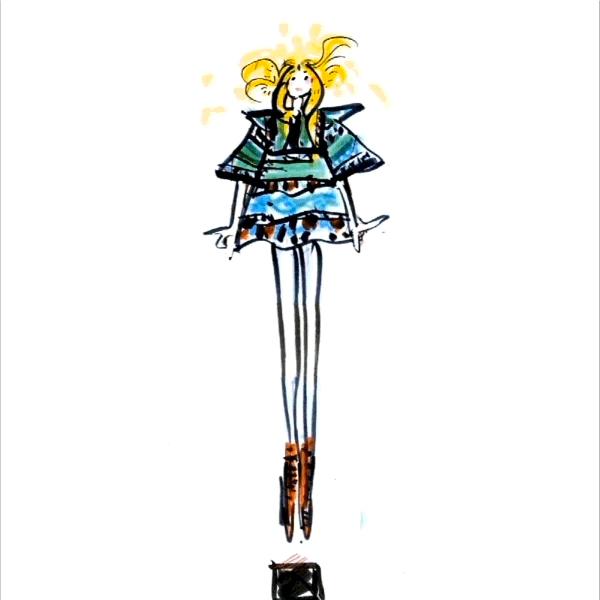 Chloe Sevigny iliustracija