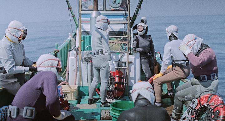 Ama-san - jūrų moterys
