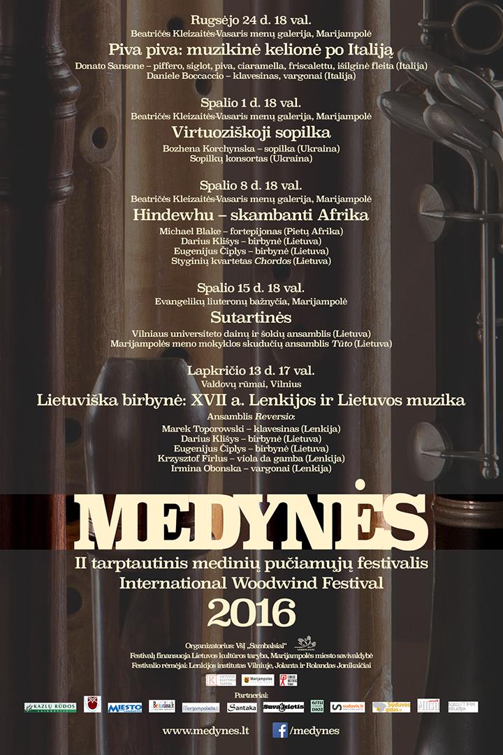 Medynės 2016 festivalis