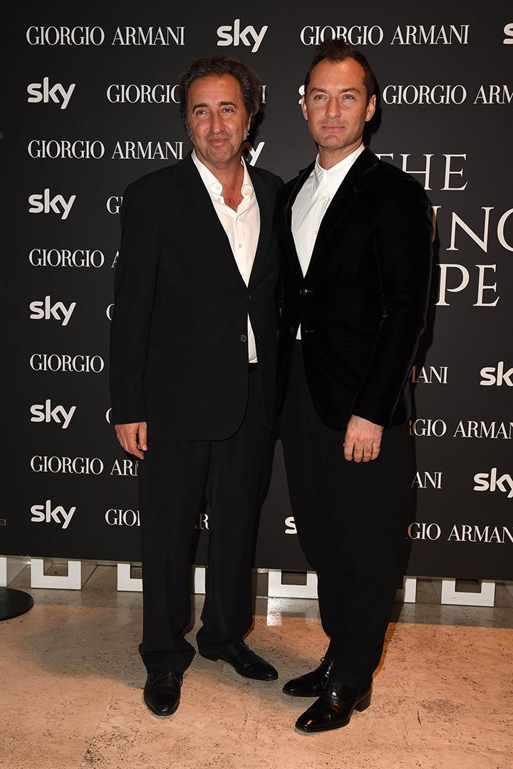Paolo Sorrentino ir Jude Law
