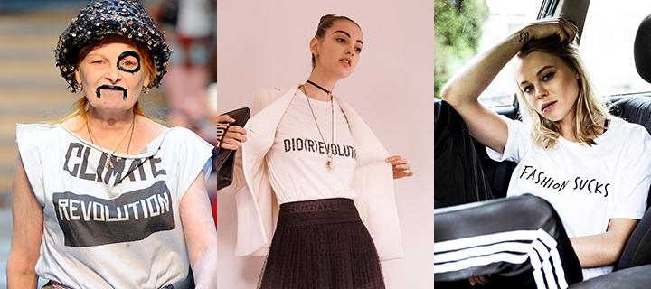 Marškinėliai su užrašais - SwO magazine