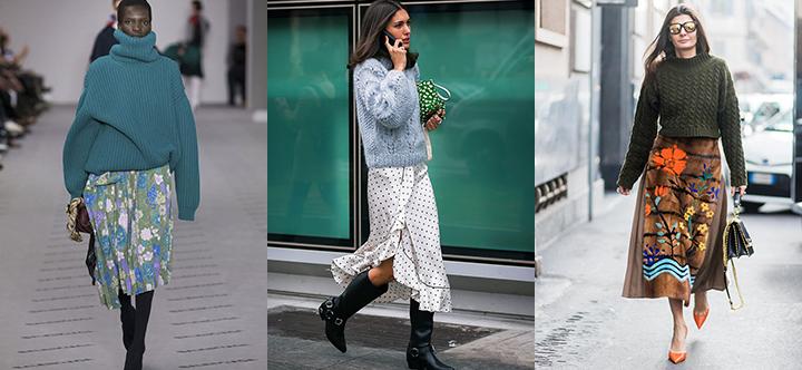Megztinis + sijonas