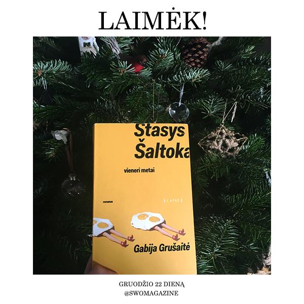 Stasys Šaltoka: vieneri metai