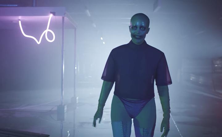 Kadras iš Fever Ray vaizdo klipo