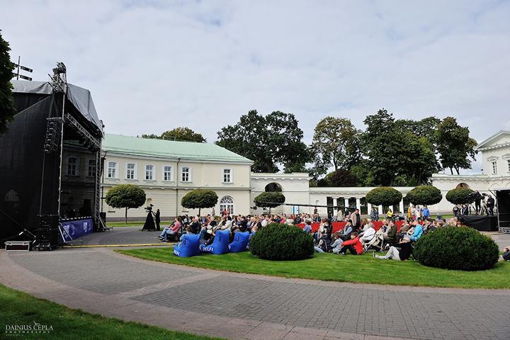Prezidento rūmų parkas atsivers džiazui