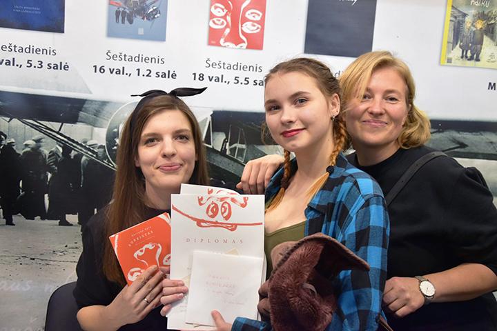 Otilija Adomkutė ir Kotryna Zylė