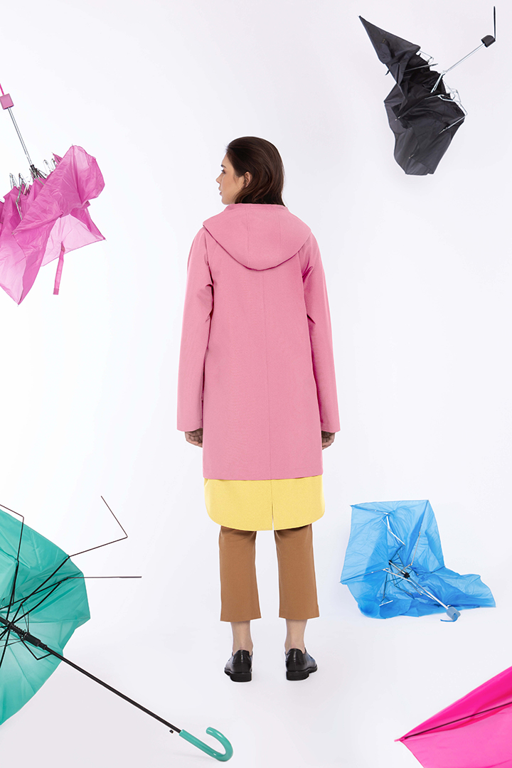Ducktail Raincoats