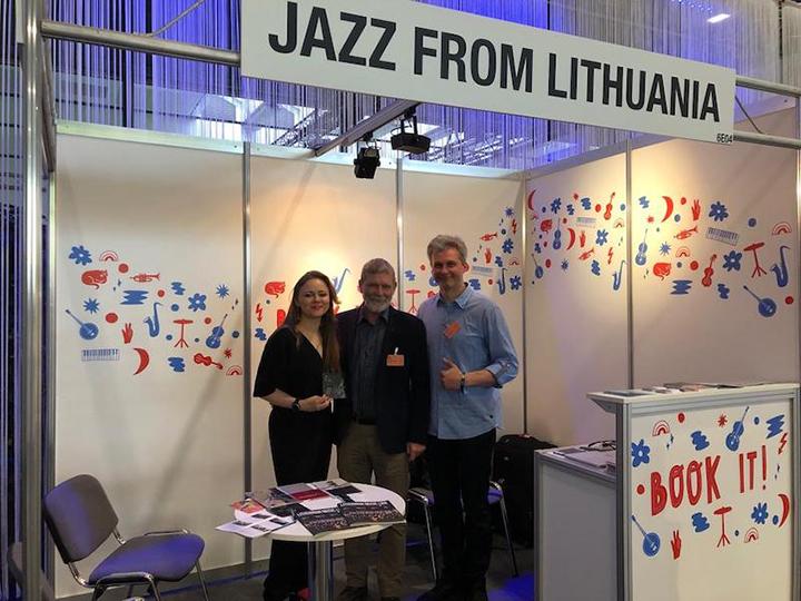 Lietuvos džiazo federacijos delegacija