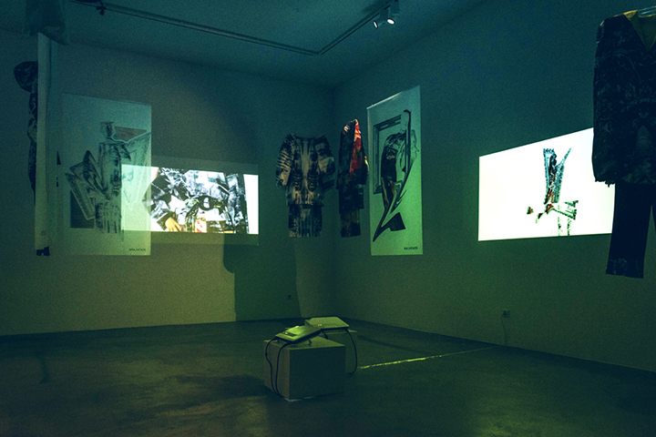 Jaunosios mados kūrėjos galerijoje surengė parodą