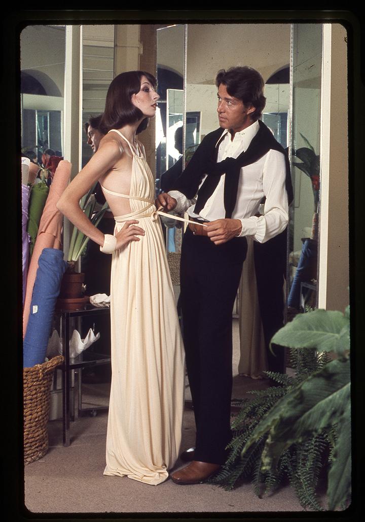 Halstonas – legendinis JAV dizaineris tikėjęs, kad gali aprengti visą Ameriką