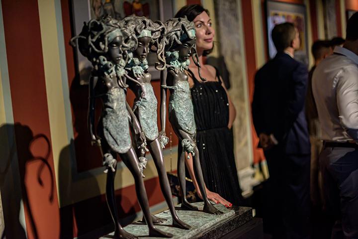Skulptūros, sužavėjusios Monako princą