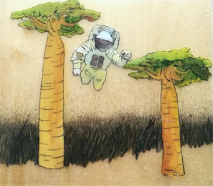 """""""Meno Niša"""" piešinių parodoje – ateities prognozės"""