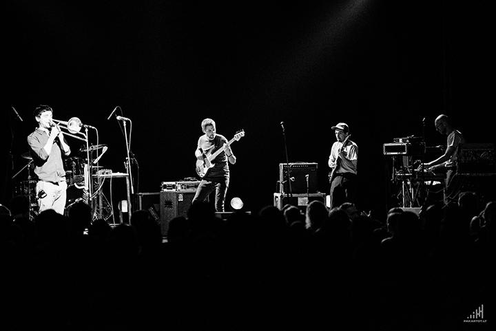 """""""Ministry of Echology"""" tęsia naujo albumo pristatymo koncertus"""
