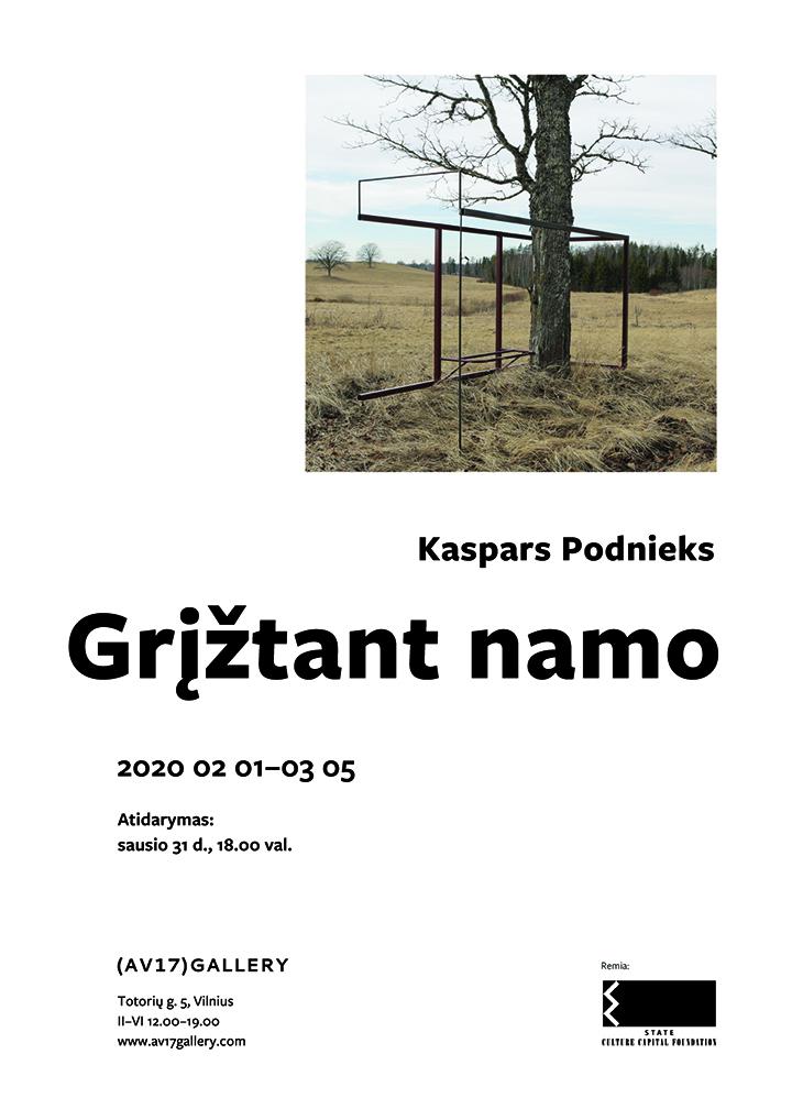 "Kaspars Podnieks: ""Grįžtant namo"""