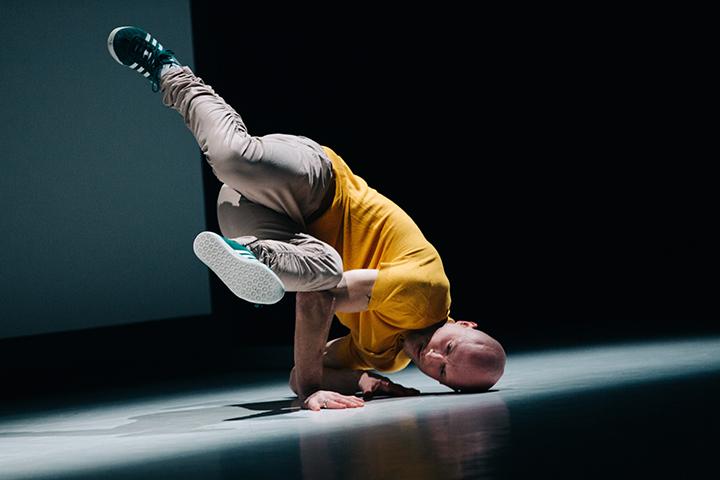 Choreografas Laurynas Žakevičius