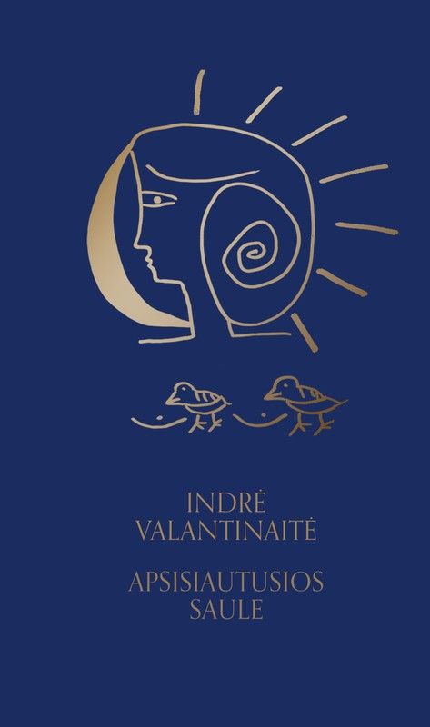 Indrės Valantinaitės poezijos knyga