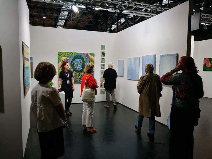 """Galerija """"Meno niša"""" jau šeštą kartą grįžta į Berlyno meno mugę"""
