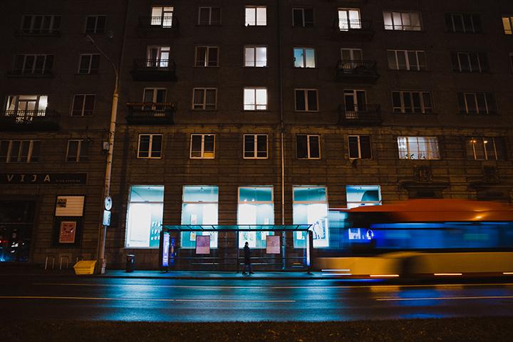 Seniausio Vilniaus kino teatro langai virto erdve šiuolaikiniam menui